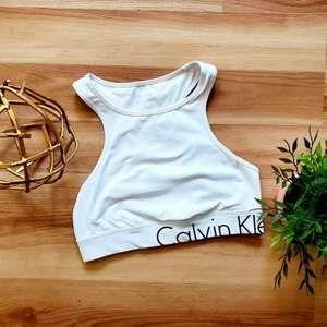 Calvin Klein Performance High Neck Sports Bra L